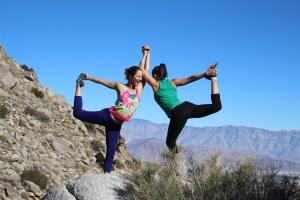 Desert Dancers Pose